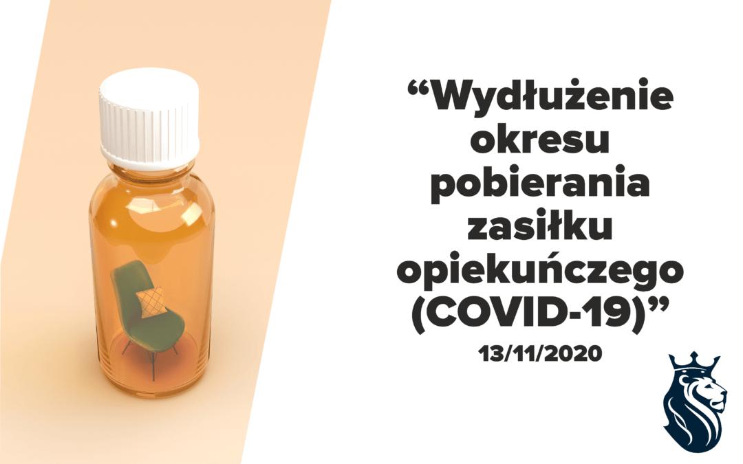 Wydłużenie okresu pobierania zasiłku opiekuńczego (COVID-19)